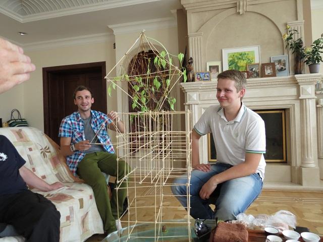 Модели 3D Го, представленные Юрием и Сергеем.