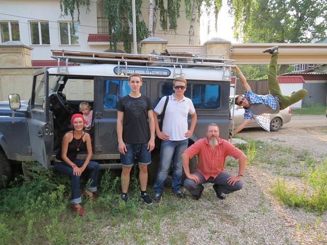 С экипажем экспедиции